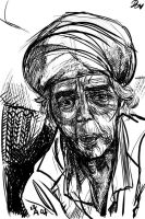 Portraiture - old lady study by southercomfort