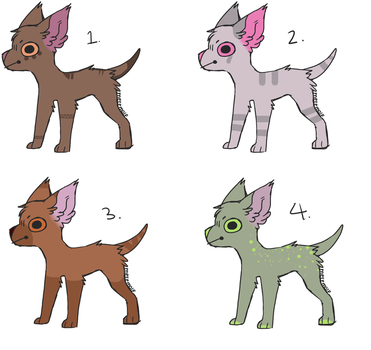 Free Dog Adopt Batch (0/4 Open) by The-COAT-Dealer