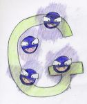 G is for Gastly by SirWongIII