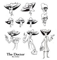 The Doctor, a little character sheet by Fenster