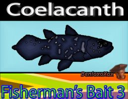 Coelacanth from Big Ol' bass fisherman's bait 3 by BenioxoXox