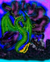 Storm Dragon by vrgraphics