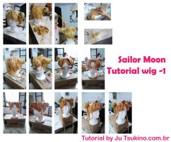 Sailor Moon tutorial wig by JuTsukinoOfficial