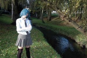Zexion Schoolgirl II by Angel-Platypus-Photo