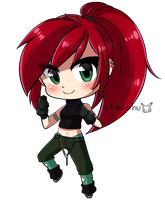 Chibi Commission - qhostkid by DreaChu