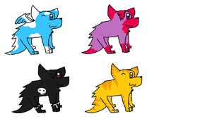 Wolf pup: Adoptables by Demonthewolf456789
