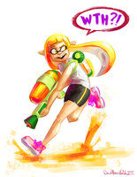Squid Kid by DavidValdez