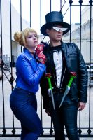 Punk Sailor Moon and Tuxedo Mask by Space-Cowboy-Arts