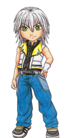 KH commission - Riku by Bishiglomper