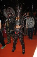 Oblivion Daedric armour cosplay MCM London by Beaupeep101