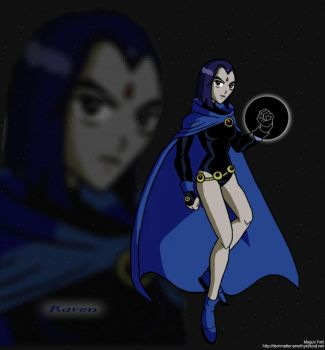Teen Titans -Raven- by Magus-82