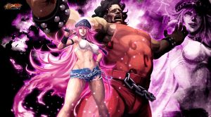 Street Fighter X Tekken: Pink Monster Ball by KaboXx