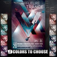 FUTURE TRANCE FLYER TEMPLATE by MCerickson