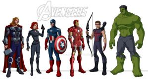 Whedon's Avengers - the animated series by 3DAvalon