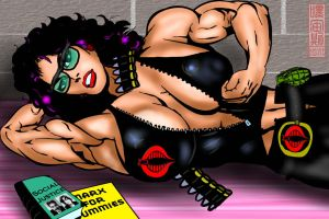SuperVillainess Muscle: Baroness by IHCOYC