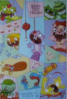 Happy Tree Friends poster by Ganox