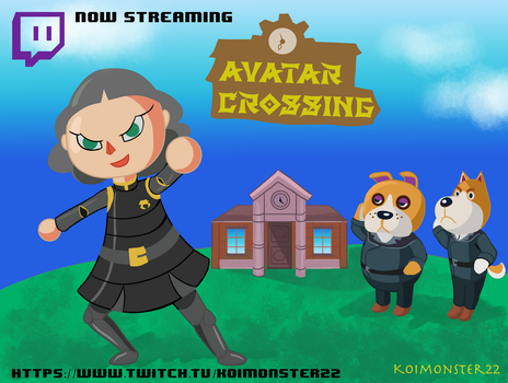 Koimonster22 Twitch ad (read description) by TheTale-Of-Rabiah