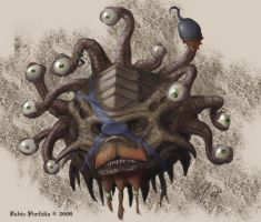 Pirate Beholder by randolfo