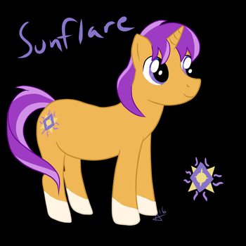 Sunflare by Speckledtail