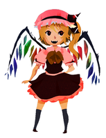 Flandre Scarlet by Wasil