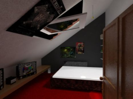Bedroom2 animated by Drakonis7