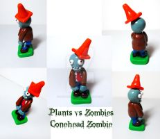 PVZ Conehead Zombie by mAd-ArIsToCrAt