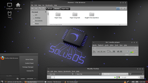SolusOS with gnome2 by morlockonzark