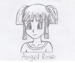 Contest Prize, Kid Angel Rose by TempestVortex