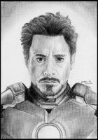 The Iron Man by foxartsbrazil