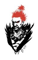 Akuma Sketch by mazingerpip
