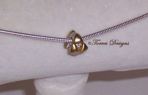 Triforce Pandora Style Charm Sterling Silver Zelda by TorresDesigns