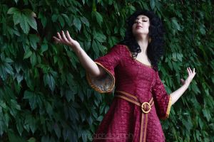 Tangled: Mother Gothel by goddessnaya