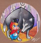 Little red riding hood by Heriplayer