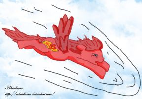 If Lightening McQueen was a pony.... by Adutelluma