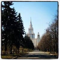 M.V. Lomonosov Moscow State University by shytiha