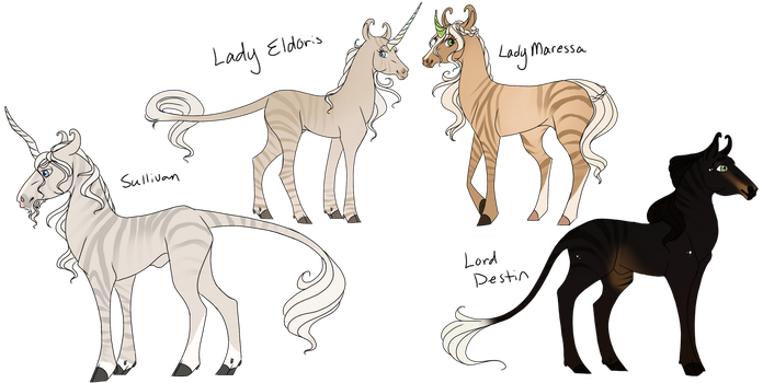 ToW Adopts - Queen Delphine's Family by Wistfully-Dreaming