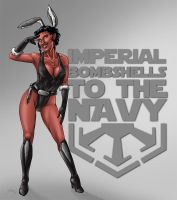 Imperial Bombshells to the Navy-Ad by Asarea