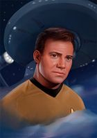 Captain James T. Kirk by RileyStark