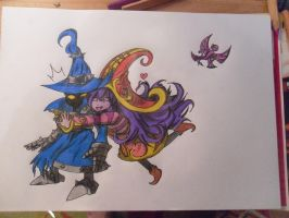 Veigar and Lulu by MisaSuo