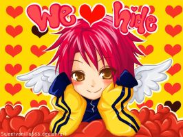 We love hide by sweetvanilla666