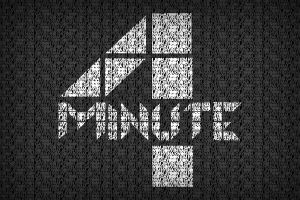 4minute typography by NouNou01