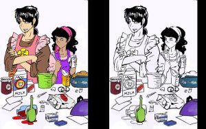 Cadeo and Celest: Cooking by Sweet-As-Spice