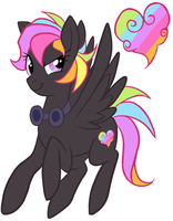 pony OC _ Darklight by G-Blue16