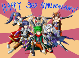 Brave Frontier 3rd Anniversary by XenonB