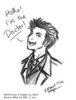 10th Doctor by k-tiraam