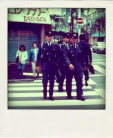 japan police by fotocali