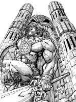 he-man for the old times by Fpeniche