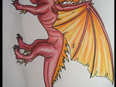 'nother dragon by supernaturalsarah