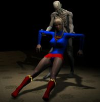 Supergirl Dragged by LordSnot