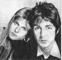 Paul and Linda McCartney by Macca4ever